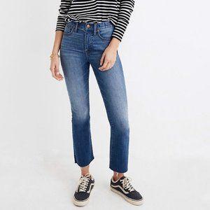 Denim Madewell Cali Demi-Boot Jeans (NWT)